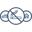Smokefree homes and cars